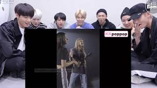 BTS Reaction to BLACKPINK When you can't understand Lisa #AceLalisaDay