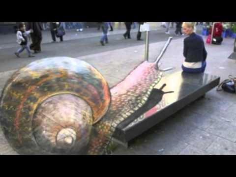 Unbelievable 3D Street Art Illusion
