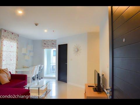 Apartment for rent Chiang Mai 16,500 baht/month 58 sq.m near CMU ให้เช่าปันนาCMUหน้าม.ช