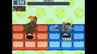 Megaman Battle Network 6 Cybeast Gregar - Play as Bass Patch - Slashman EX