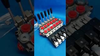 DIRECTIONAL CONTROL VALVE 6-SPOOL GALTECH 60 l/min 16 GPM 24V video