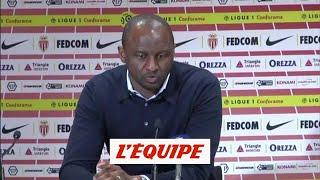 Foot - L1 - Monaco : Vieira «Je suis fier de mes joueurs»