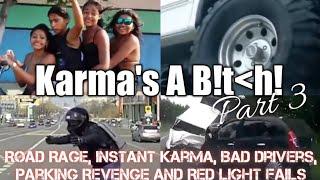 Road Rage, Instant Karma, Bad Drivers, Parking Revenge and Red Light Fails Compilation (part 3)