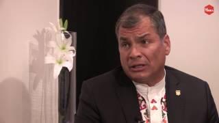 Otra Vuelta de Tuerka - Pablo Iglesias con Rafael Correa (programa completo)