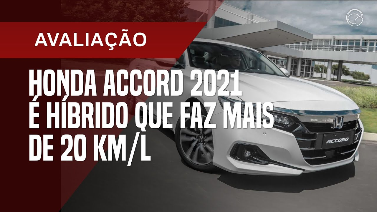 Honda Accord 2021 ganha visual renovado e tecnologia híbrida inédita no País; veja avaliação
