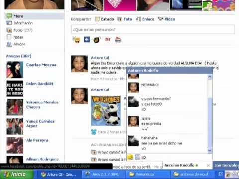 Facebook Arturo gil