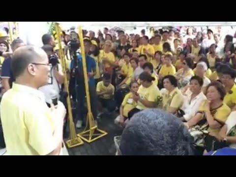 Aquino thanks Duterte's good words for Ninoy