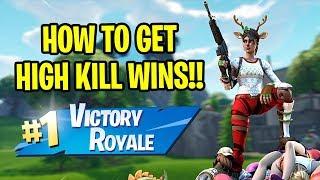 High Kill Solo WIN in Fortnite!!!