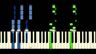 Ahxello - Frisbee - PIANO TUTORIAL