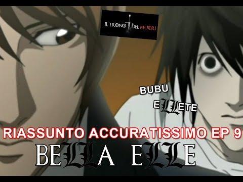 """RECENSIONE DEATH NOTE EPISODIO 9 RIASSUNTO ACCURATISSIMO """"BELLA ELLE"""""""