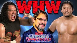 Tony Schiavone calls Super Crazy vs Taijiri