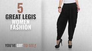 Legis Women Fashion 2018 Best Sellers Legis Women 39 s Viscose Dhoti Pants BLK302_Black_Free Size