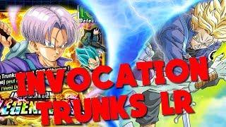 Invocation Trunks LR // DRAGON BALL Z DOKKAN BATTLE