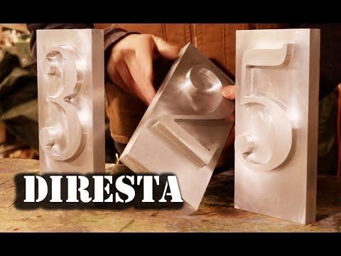DiResta CNC Address Numbers