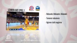 Vorbericht Playoff-Halbfinale Spiel 2 FC Bayern Basketball vs. ALBA BERLIN