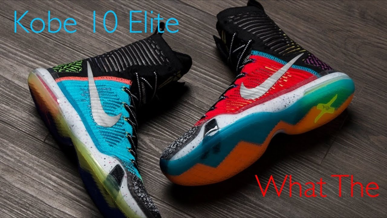 various colors 110ac c8d95 ... switzerland nike kobe 10 elite what the review on foot look 23c3e 67e75