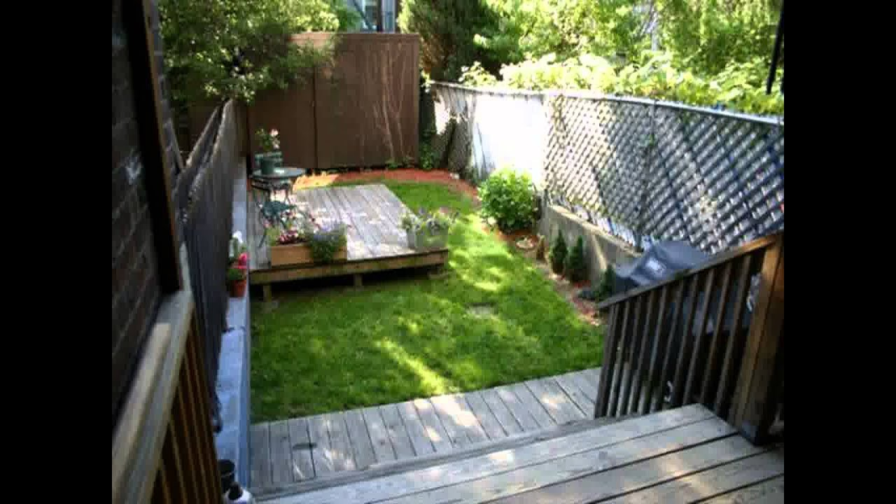 Small Space Square Garden Design Ideas YouTube