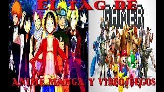 El Tag De Anime Manga Y Videojuegos
