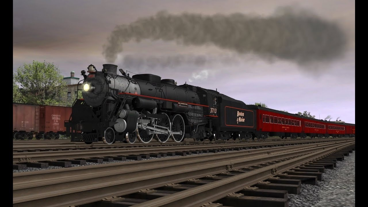 K U0026l Trainz B U0026m P4 Pacific Promo  Official