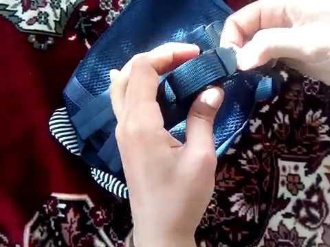 Как застегнуть лямки на рюкзаке