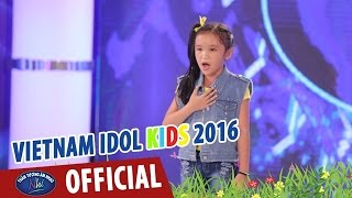 vietnam idol kids - than tuong am nhac nhi 2016 - dat viet tieng vong ngan doi