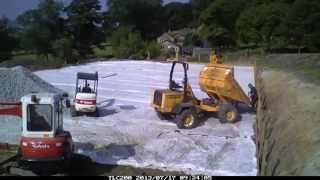 How to build a Manège (menage) construction horse arena construction