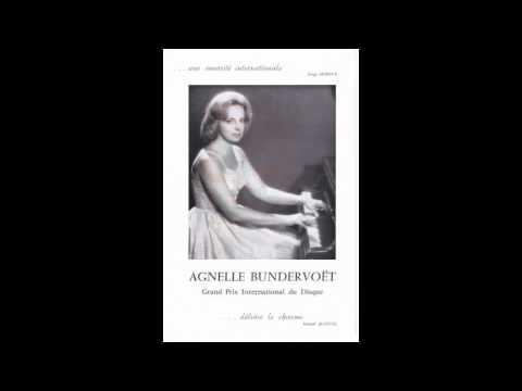 Agnelle Bundervoet (Bundervoët) plays Ravel's Gaspard de la Nuit