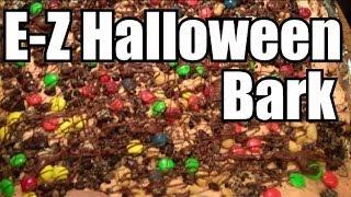 How To Make Halloween Bark Recipe - Easy Treats