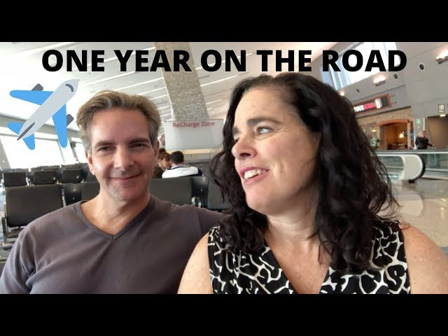 ONE YEAR AS NOMADS - Lessons learned and challenges slayed.