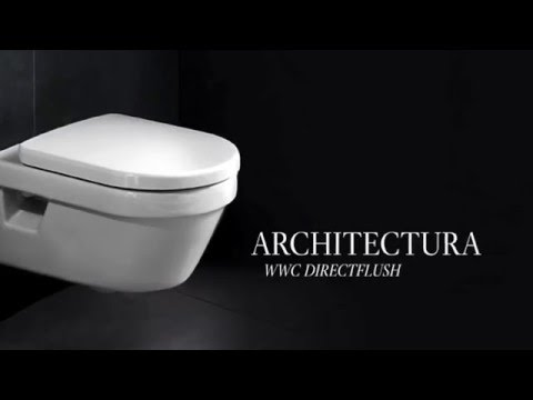 architectura directflush wc villeroy boch en zenth youtube. Black Bedroom Furniture Sets. Home Design Ideas