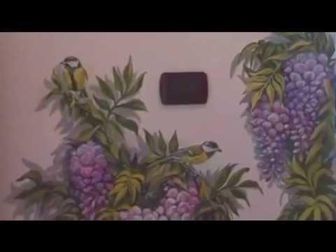 Glicine youtube for Glicine disegno