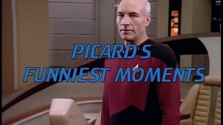 Picard's Funniest Moments