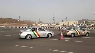 Saudi dalla Driving training