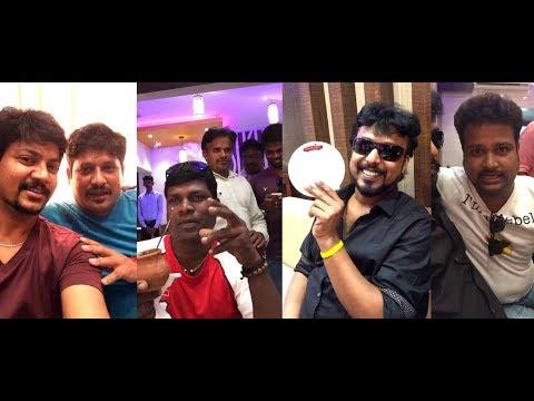 Adithya tv aadhavan & azhar /Vadivel Balaji/ meeting & Dinner funny Video