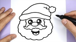 Kawaii Weihnachtsmann Malen - Kawaii Bilder