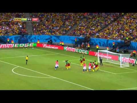 Croatia vs. Cameroon 4-0 - All Goals - World Cup 2014