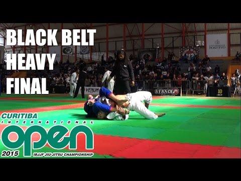 Curitiba Open - Black belt adult male Heavy final