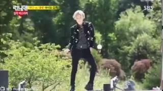 Running Man Ep 209 SHINee Taemin & EXO Kai Sehun Dance