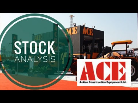 Youtube Tutorial  | Action Construction Equipment |ACE | By Smart Investor