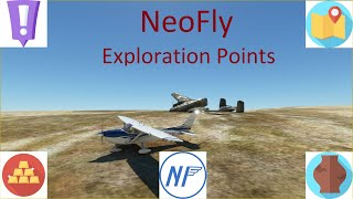 NeoFly Tutorial - Exploration points.  How they work, how to find them, and a short flight to one.