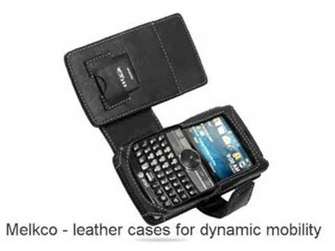 Melkco Tasche Leder Etui cuir ~Samsung SGH-I617/ Blackjack II Book Type (Black)
