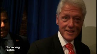 Bill Clinton High on Georgia Senate Candidate