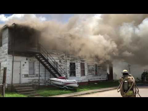 Structure Fire Huntington WV
