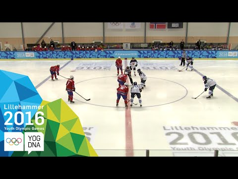 Ice Hockey – ​Men's Preliminaries – Finland vs Norway | ​Lillehammer 2016 ​Youth Olympic Games​