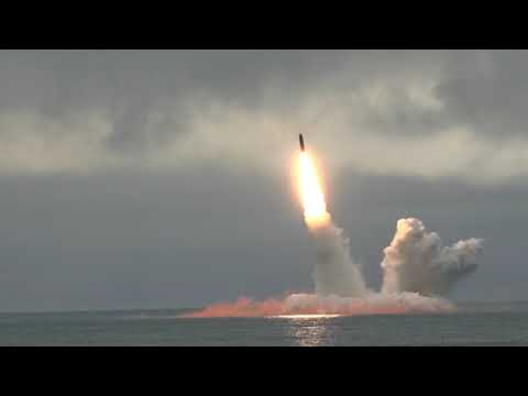Russian nuclear sub launches Bulava ICBM in Barents sea