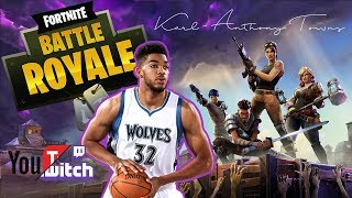 Fortnite with KAT, Josh Hart, Larry Nance Jr, & Frank Kaminsky
