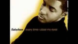 Скачать Babyface Evertime I Close My Eyes Everytime I Feel The Groove Remix HQ Audio