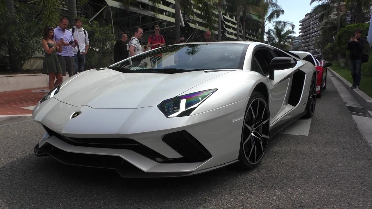 The New 2017 Lamborghini Aventador S Lp740 4 In Monaco Youtube