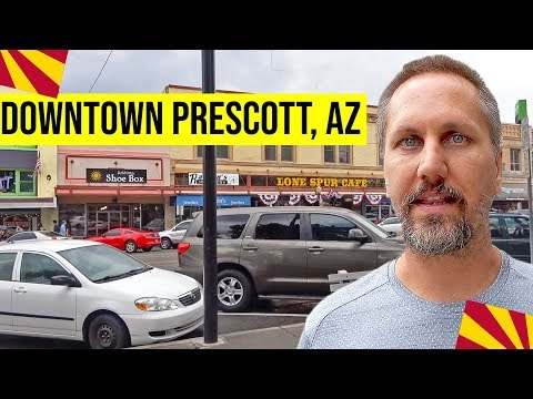 Downtown Prescott: Courthouse Plaza | Whiskey Row, Prescott, AZ | Day Trips From Phoenix, Arizona