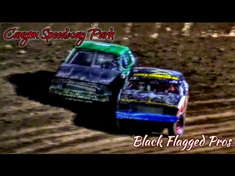 IMCA Hobby Stock Main At Canyon Speedway Park July 30th 2016